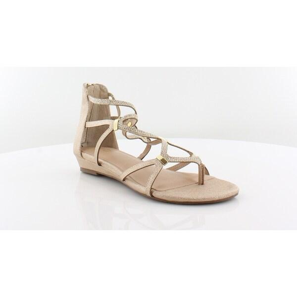 Thalia Sodi Pamella Women's Sandals Gold - 7