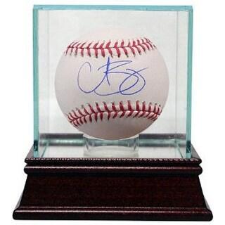 Curt Schilling signed Official Major League Baseball w/ Glass Case- JSA Hologram (Red Sox/Phillies/Diamondbacks)