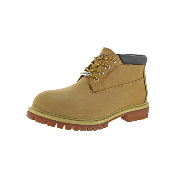 Fuda Mens Work Boots Leather Waterproof