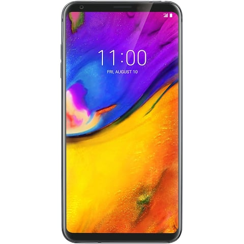 LG V35 ThinQ V350 64GB Unlocked GSM LTE Android Phone w/ Dual 16MP Camera - New Platinum Gray (Certified Refurbished)