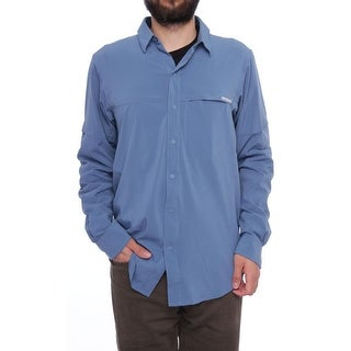 Columbia Freeze Degree Long Sleeve Collared Neck Casual Button Down