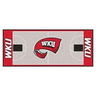 NCAA Western Kentucky University Hilltopper NCAA Basketball Non-Skid Mat Area Rug Runner