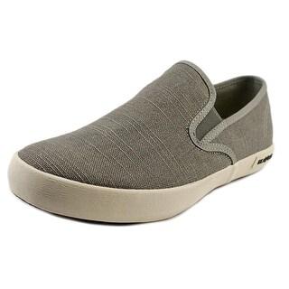 Seavees Baja Slip On Standard Men Round Toe Canvas Loafer