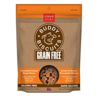 Cloud Star Soft & Chewy Grain Free Peanut Butter Treats 5oz