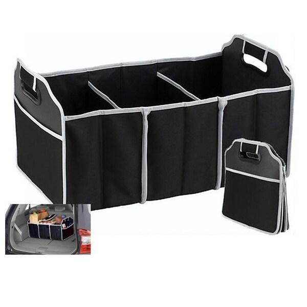 Car Trunk Organizer - Black