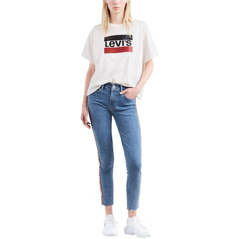 Levi's Womens Logo Embellished T-Shirt