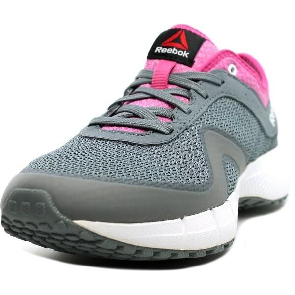 Reebok DMX Max Supreme Women Asteroid Dust/Pink/White Walking Shoes