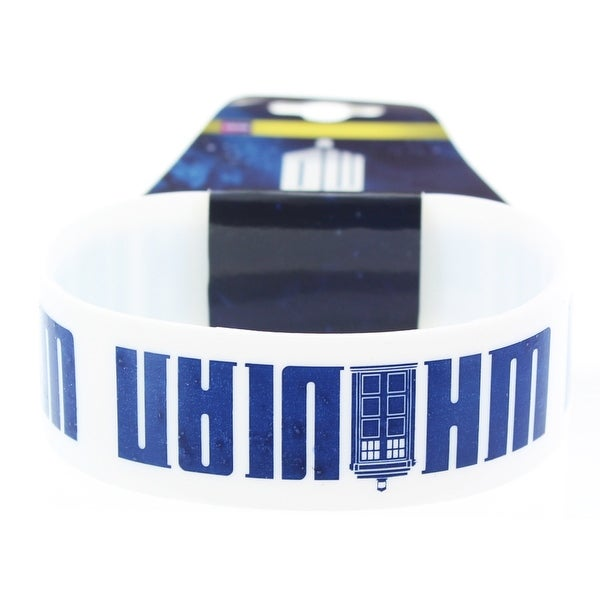 Doctor Who Rubber Wristband Whovian - multi
