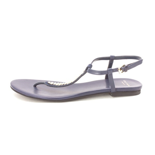 Cole Haan Womens Mandysam Open Toe Casual T-Strap Sandals - 6