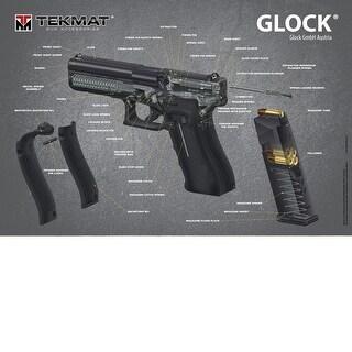 Tekmat tmpglockca tekmat glock 3d 24x36 poster