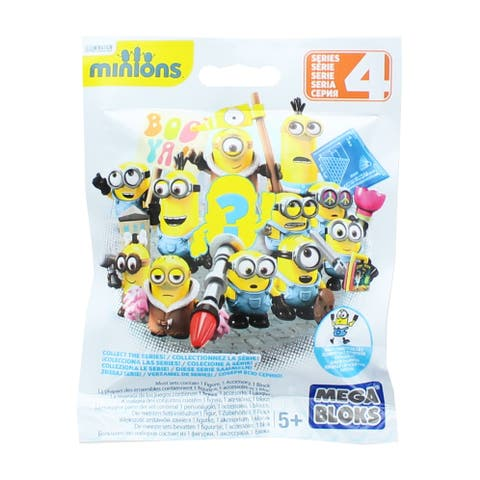 Despicable Me/ Minions Blind Pack Series 4 Buildable Figure - multi