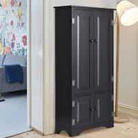 Accent Storage Floor Cabinet with Adjustable Shelves Deals