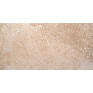 "MSI TTCLASLT1224HF  24"" x 12"" Rectangle Wall & Floor Tile - Smooth Travertine Visual - Sold by Piece - Honed"