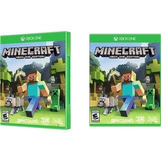 Microsoft 44Z-00001 Microsoft Minecraft Xbox One Edition - Action/Adventure Game - Blu-ray Disc - Xbox One - English|https://ak1.ostkcdn.com/images/products/is/images/direct/9626bf8d5885d3cef94ab4fbd4ef83d2362e0536/Microsoft-44Z-00001-Microsoft-Minecraft-Xbox-One-Edition---Action-Adventure-Game---Blu-ray-Disc---Xbox-One---English.jpg?impolicy=medium