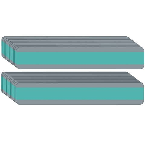 """Double Wide Sentence Strip Reading Guide, 1.25"""" x 7.25"""", Aqua, Pack of 24 - One Size"""