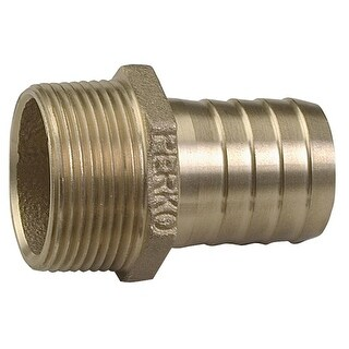 "Perko 2"" Pipe To Hose Adapter Straight Bronze - 0076009PLB"