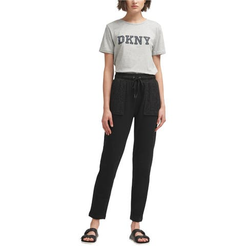 Dkny Womens Pull On Casual Cargo Pants
