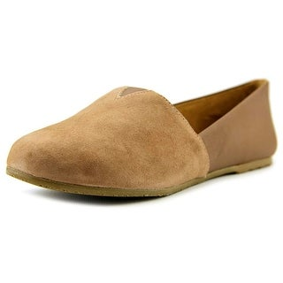 Tkees Senny Women Round Toe Leather Tan Loafer