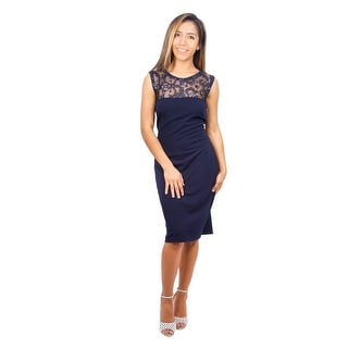 Sleeveless Sequin Jersey Sheath