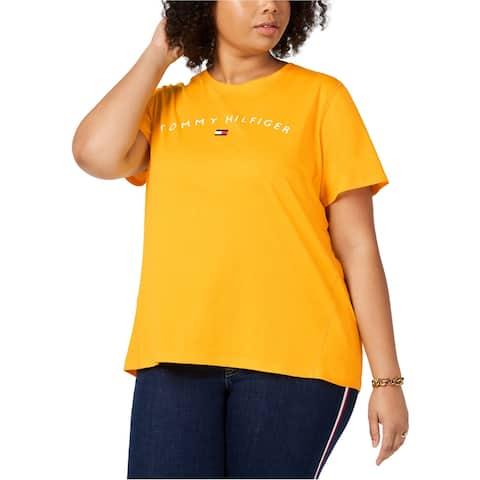 Tommy Hilfiger Womens Logo Graphic T-Shirt