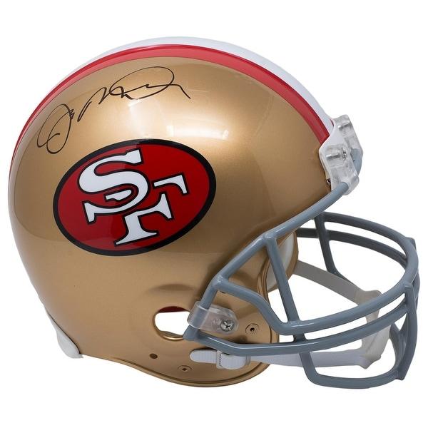 8b2678507 Joe Montana Signed San Francisco 49ers Full Size Proline Authentic Helmet  JSA