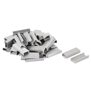 Office Metal Paper Draft Book Document Fasteners Staples Silver Tone 3000pcs