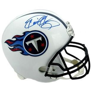 Derrick Henry signed Tennessee Titans Riddell NFL Full Size Rep Helmet blue  sig Henry Hologram