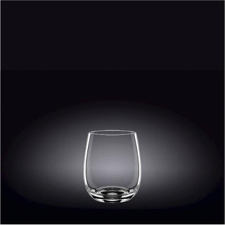 Wilmax 888021 370 ml Whisky Glass Set of 6, Pack of 12