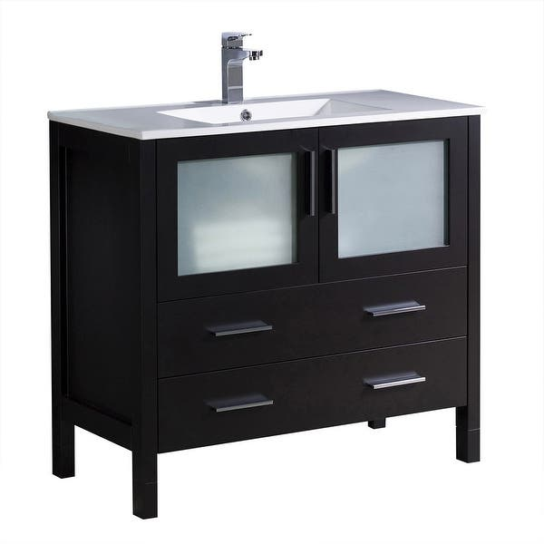 Shop Black Friday Deals On Fresca Fcb6236 I Torino 36 Free Standing Single Vanity Set With Overstock 29903490