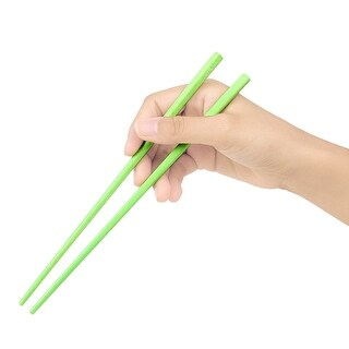 5 Pairs Assorted Color Plastic Camping Travel Chopsticks