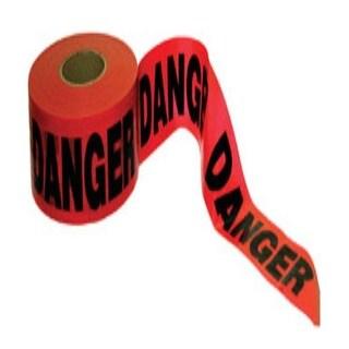"CH Hanson 14998 Barricade Safety Tape, Danger, 3""X1000'"