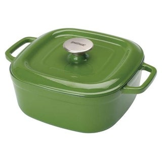 Bayou Classic 7722G Cypress Green 4 Qt Casserole With Lid, Bayou Classic,Enameled Cast Iron