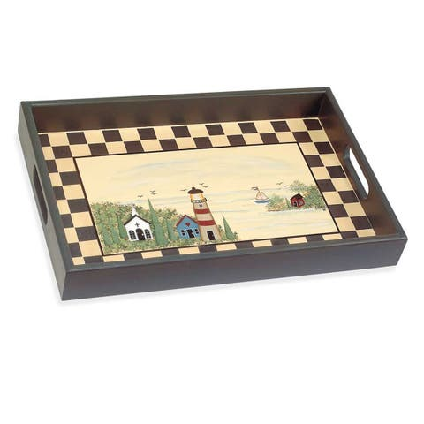 Trays Multi Wood Lighthouse Tray Renovator's Supply