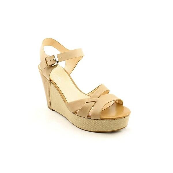 Marc Fisher Womens HELLO Peep Toe Casual Platform Sandals