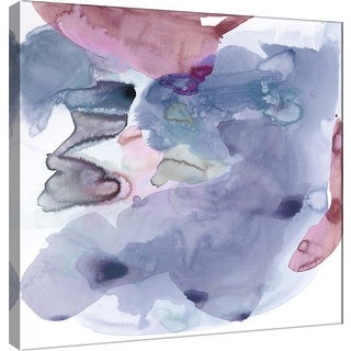 """PTM Images 9-100924  PTM Canvas Collection 12"""" x 12"""" - """"Amorphous B"""" Giclee Abstract Art Print on Canvas"""