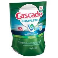 Cascade 1464916 Complete Fresh Scent Dishwasher Detergent