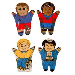 Special Needs Hand Puppets Set Of 4