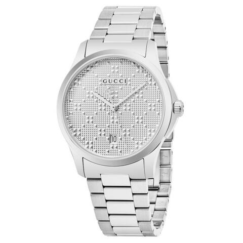 Gucci Unisex G-Timeless 400 Quartz 38mm Watch - N/A