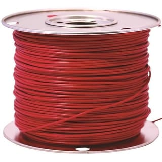 Coleman Cable 55671523 Primary Wire, 12-Gauge, 100-Feet Bulk Spool, Red