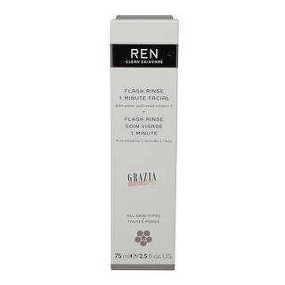 REN Skincare Flash Rinse 1 Minute Facial - 2.5 Ounce