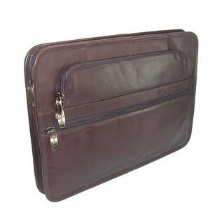 Winn International Leather Underarm Portfolio