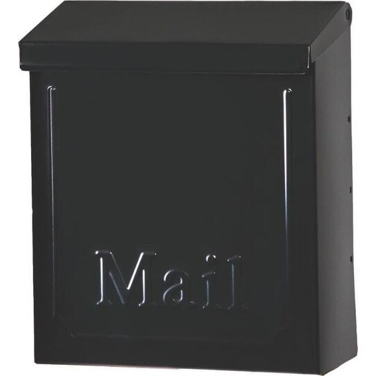 Gibraltar THVKB001 Townhouse Wall Mount Locking Mailbox, Black