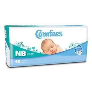 ATTENDS HEALTHCARE PRODUCTS 48CMFN Comfees Baby Diapers - Newborn