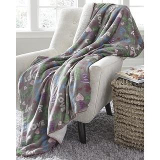 Ivory Ella Gia Blue Blanket Overstock 27978210