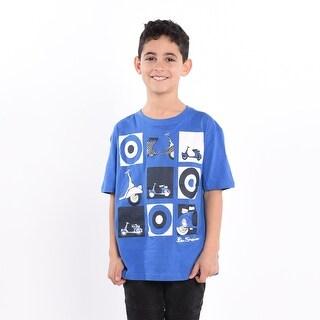 Scooter T-Shirt - Nautical Blue