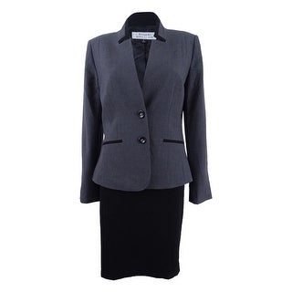 Tahari ASL Women's Two-Button Skirt Suit