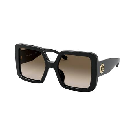 Tory Burch TY7154U 170913 52 Black Woman Square Sunglasses