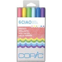Brights - Copic Ciao Markers 6/Pkg