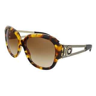 Versace VE4304 511913 Havana Square Sunglasses