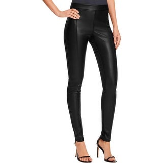 Vero Moda Womens Leggings Faux Leather Faux Suede